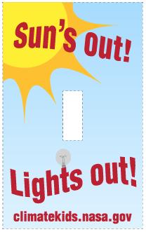 Nasa Climate Kids Light Switch Plates