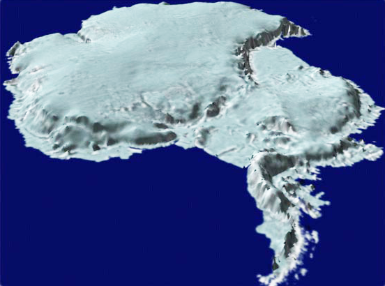 NASA Climate Kids Which Pole Is Colder - Satellite map of antarctica