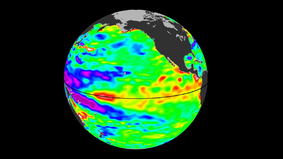 El Niño quiets monster storms
