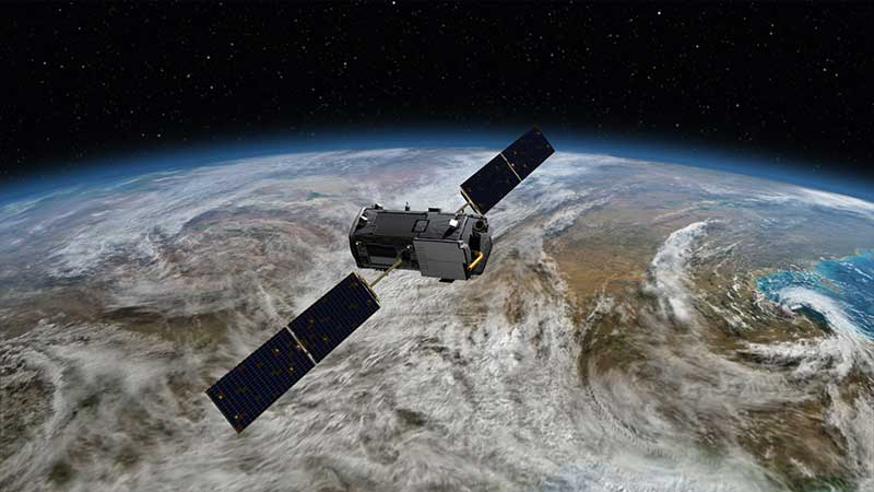 Artwork of NASA's Orbiting Carbon Observatory-2
