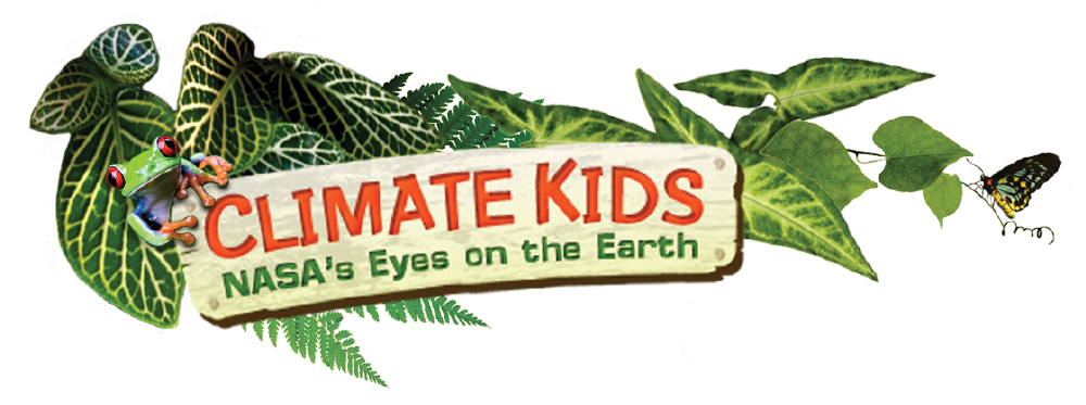 thumbnail of Climate Kids logo