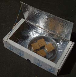 Nasa climate kids make sun s mores for How to build a solar oven for kids